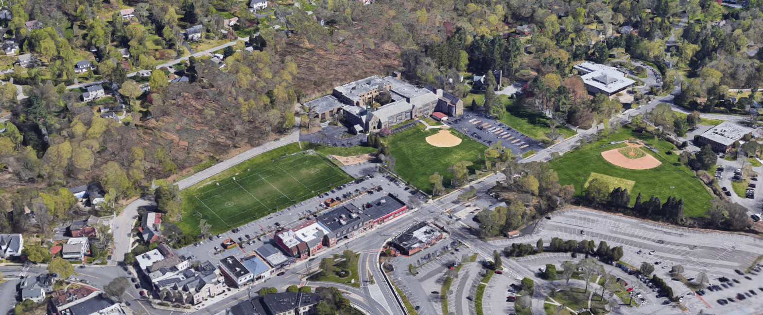 Robert E. Bell Middle School in Chappaqua Central School District in Chappaqua, New York