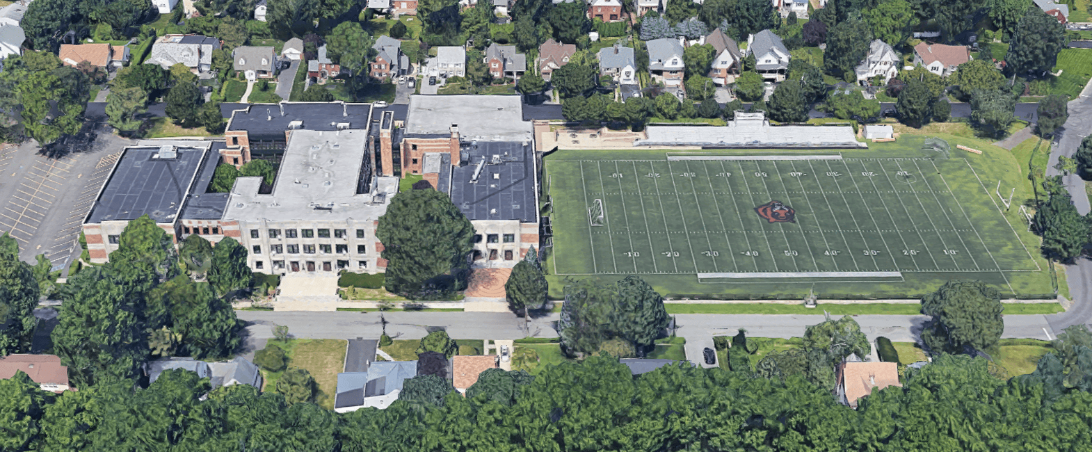Tuckahoe Middle and High School Campus in Eastchester, New York